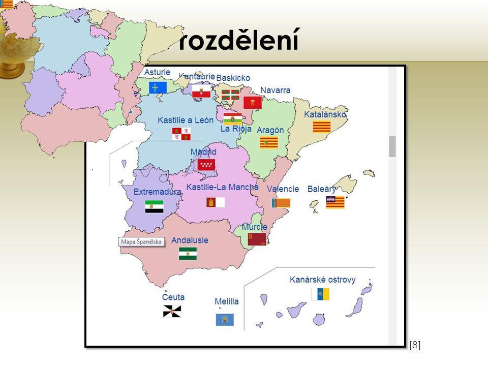 Politické rozdělení Vložte obrázek některého z turisticky zajímavých míst země. [8]